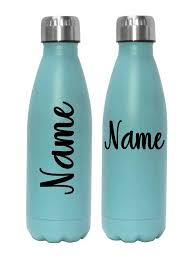 Script Name Decal Cursive Name Decal Custom Name Decal Water Bottle Decal Personalized Cup Sticker Bottle Decals Water Bottle Decal Personalized Cups