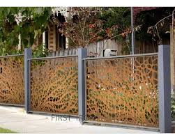 Rust Steel Laser Cut Fence Panels Custom Laser Cut Pattern Iron Fence Panels In Rust Color Buy Rust Laser Cut Fence Panels Steel Laser Cut Fence Panels Custom Pattern Iron Fence Panels Product On