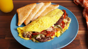 Best Philly Cheesesteak Omelet Recipe - How to Make Philly Cheesesteak  Omelet