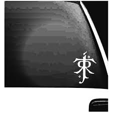 Rr Tolkien V2 Symbol Lord Of The Rings Decal Sticker