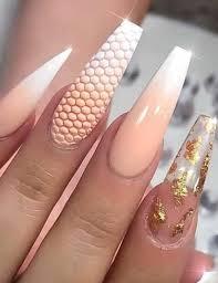 stunning long nail art designs and