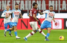 Napoli Milan streaming: dove vedere la partita in diretta