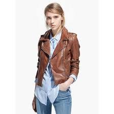 new fashion faux leather moto jacket