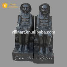 life size garden egyptian statues