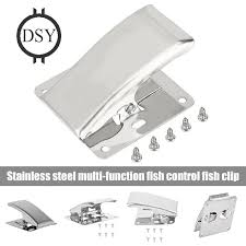 Stainless Steel Fillet Clamp Fish Tail Clip for Cleaning Board ...