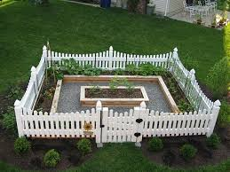 Simple Raised Bed Garden With Picket Fence Creative Raised Bed Garden Ideas Yard Decor Fo Fenced Vegetable Garden Small Garden Fence Garden Layout Vegetable