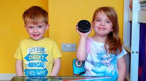 Kids Review The Amazon Echo Dot 2nd Generation Youtube
