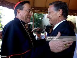Honduran Cardinal Oscar Andres Rodriguez Maradiaga is welcomed by ...