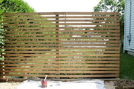 Modern Wood Slatted Outdoor Privacy Screen Details On How To Build Garden Privacy Screen Diy Privacy Screen Outdoor Privacy