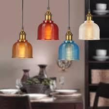 glass pendant lights kitchen island