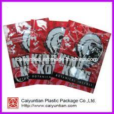 China Kingkong 3G Herbal Incense Packaging Bag, Ziplock Tobacco ...