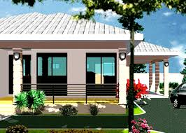 2 Bedrooms Plan For Ghana And All African Countries