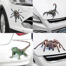 2pcs 3d Spider Crawling Black Widow Tailgate Hood Window Decal Vehicle Truck Ebay
