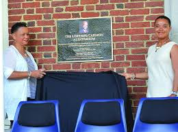 Edgecombe names auditorium in honor of Carmon