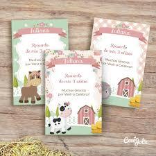 Kit Animalitos De La Granja Imprimible Personalizable Animales