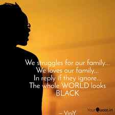 we struggles for our fami quotes writings by vinit verma