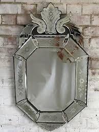antique vintage french venetian mirror