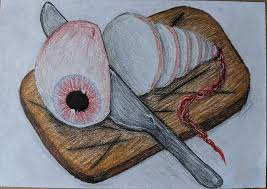 Chopped Drawing by Ivy Turner