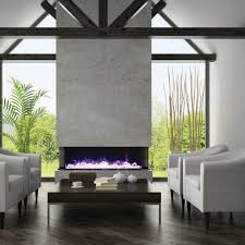 electric fireplace contemporary