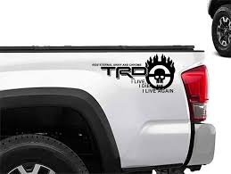Toyota Racing Development Trd Mad Max Edition 4x4 Bed Side Graphic Decals Stickers 2