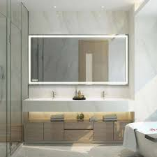 led light bathroom mirrors bath