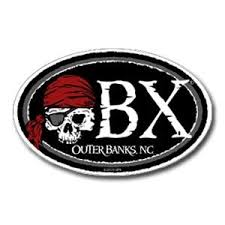 Obx Cutlass Pirate Sticker Kitty Hawk Kites Capiz Shell Stickers Obx