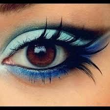 eye makeup tutorial for brown eyes by