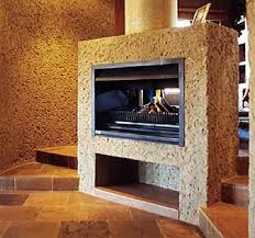 1050 double sided built in fireplaces