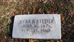 Myra Bell Harbour Studer (1871-1960) - Find A Grave Memorial
