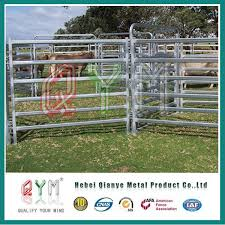 China Galvanized Cattle Metal Fence Panel Heavy Duty Livestock Cattle Panel China Cattle Panel Fence Panles
