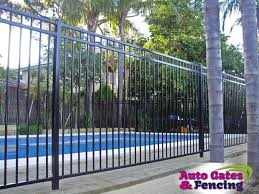 Prevent Your Kids And Pets From The Pool Hazards With Aluminium Fences Auto Gates Fencing