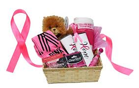gift basket supporting t cancer