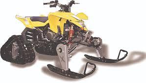 snow track kits for quads utvs dirt
