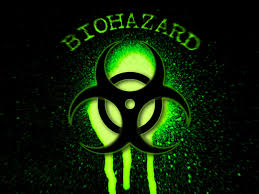 41 green biohazard wallpaper on