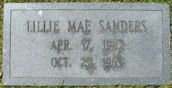 Lillie Mae Jewell Sanders (1910-1965) - Find A Grave Memorial