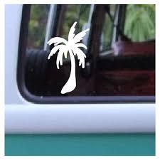 Palm Tree Decal Hawaiian Plant Hydro Flask Sticker By Aloha Maui Creations