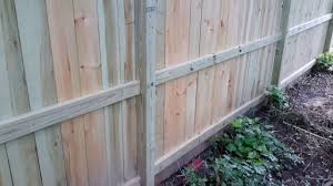 Great Fence Installation With Dog Ear Fence Boards Improves On Basic Installation Youtube