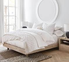 cayman platform bed in 2020 white