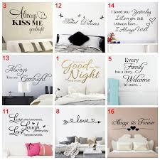 Quote Good Night Sweet Dreams Wall Stickers Personalized Creative For Living Room Bedroom Art Decals Wallstickers Wish