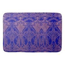 art nouveau pattern royal purple