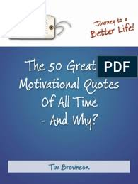 the greatest motivational quotes of all time pdf