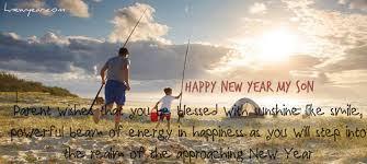 new year wishes for son greetings