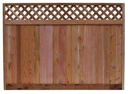 6 X 8ft Western Red Cedar Lattice Top Fence Panel U S Barricades Traffic Control Pedestrian Safety Products
