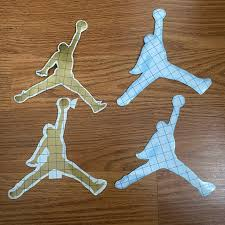 Jordan Other Jumpman Logo Decal Sticker 6x6 4 Pcs Poshmark