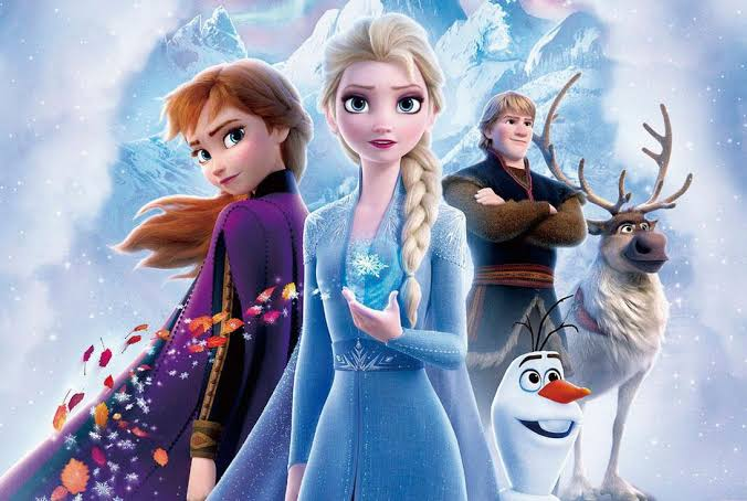 Christmas movie  Frozen""