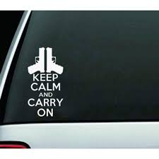 Car Keep Calm And Carry On Sticker Unique Reflective Warning Sticker Buy At A Low Prices On Joom E Commerce Platform