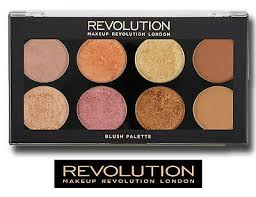 makeup revolution palette blush bronze