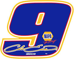 Amazon Com R And R Imports Inc Chase Elliott 9 Large Number Decal 2 Pack Clothing