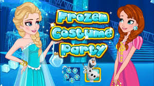 fun frozen costume party game