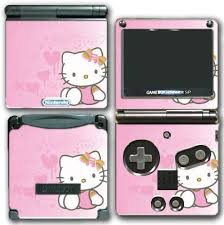 Hello Kitty Pink Hearts Starts Music Note Bowtie Video Game Vinyl Decal Skin Sticker Cover For Nintendo Gba Sp Gameboy Advance System By Vinyl Skin Designs Amazon Co Uk Pc Video Games